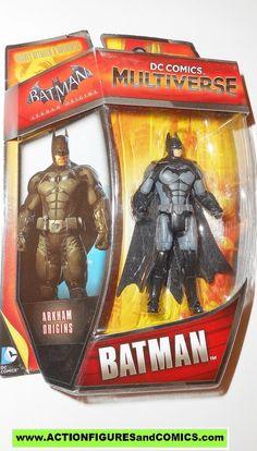 "DC Batman Vs Solomon Grundy 4/"" Action Figure Multiverse Arkham 2014 Mattel MIB"