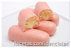 Pastelitos de crema estilo Pantera Rosa Tm - Celia K - Crazy Cakes, Beautiful Cakes, Hot Dog Buns, Sweet Recipes, Sweet Tooth, Bakery, Easy Meals, Food And Drink, Yummy Food