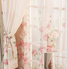 Floral Good quality curtains online for Girls Bedroom Decoration