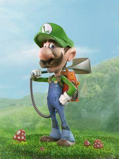 Luigi on Behance