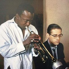 "June 1958 recording ""Legrand Jazz"" with Michael Legrand on the Columbia label. Jazz Artists, Jazz Musicians, Famous Artists, Music Artists, Miles Davis, Wayne Shorter, Musician Photography, Portrait Photography, Bill Evans"