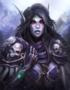 World Of Warcraft - Sylvanas, The Dark Lady by theDURRRRIAN.deviantart.com on @deviantART