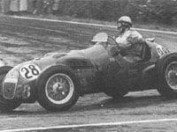 #28 Paul Frere (B) - HWM 52 (Alta 4) 5 (8) HW Motors