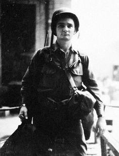 American soldier Fance