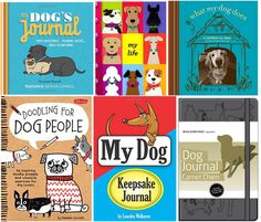 Journals and blank books for dog lovers
