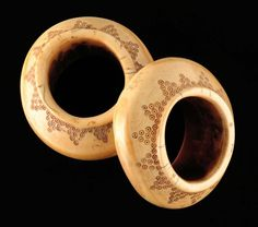 Indonesia | Old Ivory bracelets from Sumba. | 1300 € ~ sold