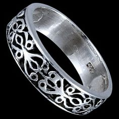 Silver ring, Ancient ring Silver ring, Ag 925/1000 - sterling silver. A ring with an ancient carved pattern.
