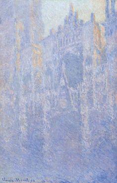 Claude Monet, La Cattedrale di Rouen, effetti di luce mattutina, olio su tela (91 x 63 cm), 1894, Musée d'Orsay di Parigi.