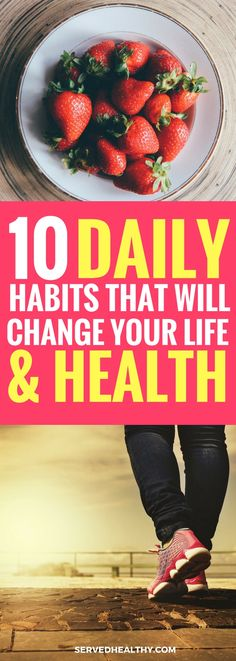 List of 10 daily habits that changed my life in the past and that will change my life in the present and future. These habits, if you choose to implement them, can be vastly beneficial to your life and I strongly urge you to give these daily habits a try!