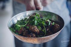 Aasialaiset lihapullat eli peruspyörykät aasialaisella twistillä!