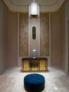 Sophisticated hotel decor, The Waldorf Astoria Hotel, Park Avenue Lobby Top Interior Designers, Modern Interior Design, Interior Architecture, Lobby Reception, Reception Counter, Public Hotel, Astoria Hotel, Art Furniture, Contemporary Furniture
