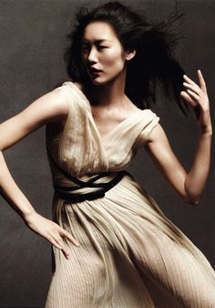 lapeste:    Liu Wen by Daniel Jackson for Vogue China May 2012