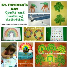 15 St. Patrick's Day and Rainbow Crafts and Activities for Kids