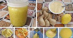 Zazvor, citron a med. Czech Recipes, Russian Recipes, Ethnic Recipes, Health Advice, Alternative Medicine, Detox Drinks, Home Remedies, Preserves, Cantaloupe