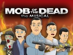 ♪ MOB OF THE DEAD THE MUSICAL - Black Ops 2 Zombies Parody - YouTube