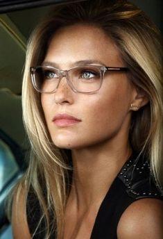 a41c8567a53219 Nice🤓 Big Glasses, Fashion Eye Glasses, Four Eyes, Womens Glasses, Wedge