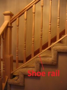 Best Stair Base Rail Cherry Staircase Handrail Gallery 400 x 300