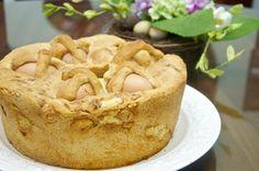 Casatiello (Neapolitan Easter Bread)