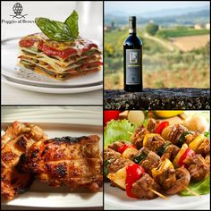 To taste our Chianti we suggest to combine a plate of lasagna with vegetables, excellent chicken skewers or just white meat on the grill. You will enhance the taste of our genuine Chianti! Do you have other suggestions to give us?