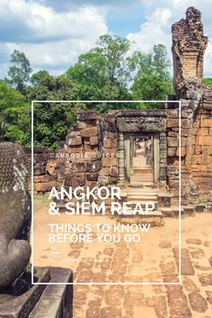 All you need to know about planning your trip to Siem Reap, Cambodia: from transportation to accommodation to tours to Khmer words for Angkor visitors. Rock this UNESCO World Heritage site like a pro!