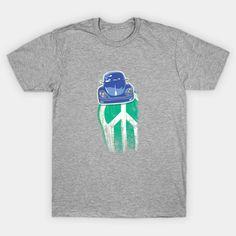 on sale now! ..'Blue Peace' - Car T-Shirt | TeePublic #teepublic #retro #60s #sixties #cool #cars #bugs #peace #hippie #70s #nostalgic #summer #clothing #onsale #cooltees Summer Clothing, Cool Tees, Art Boards, Bugs, Peace, Gift Ideas, Retro, Car, Artist