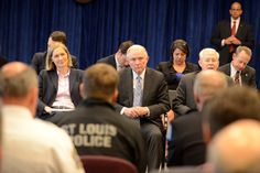 Meeting with St. Louis law enforcement, Attorney General Sessions discusses combating violent crime & the opioid crisis.