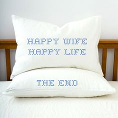 happy wife happy life. the end
