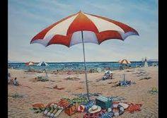 beach scene- by Gregory Coates