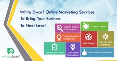 ⚫⚪⚫ Online Marketing Solutions ⚫⚪⚫ ↪️ Grow your Business with our Online Marketing Services ↩️ ✔ Online Marketing  ✔ Search Engine Optimization (SEO) ✔ Social Media Optimization (SMO) ✔ Email Marketing ✔ Google Adwords  ✔ Digital Advertising ✔ Analytics & Conversion Rate Optimization ✔ Visit us: http://www.whitedwarf.in/ ☎️ Sales/Support : (022) 65655393 #whitedwarf #OnlineMarketing #OnlineMarketingServices #SearchEngineOptimization #SEO #SEOServices #SocialMediaOptimization #SMO…