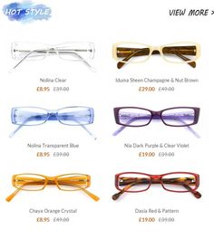 d427845672e Ozeal Glasses Summer Collection 2013-Brighten up! Sweet Girls