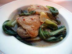 LCHF-bloggen: Kylling i grønn karri med lime og bok choy