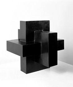 """Asteriskos"" Tony Smith Date: 1968 Style: Minimalism Genre: sculpture"