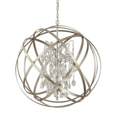 Our Axis Orb Chandelier is fabulous. You've seen cousins of this fixture in every home decor magazine on your coffee table. Available in either Winter Gold for more glam or Russet for a tad more rustic appeal. Three sizes, two finishes, with or without clear crystals. #LightingDesign #OrbChandelier #LightingConnection