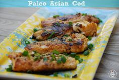 This Paleo Asian Cod is packed with flavor and great for an easy weeknight dinner! It's healthy and quick to make. Don't miss this recipe.