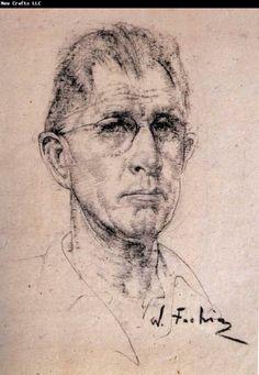 Berthe Morisot Museum: Portrait of man Nikolay Fechin