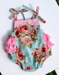 Baby+girl+clothes+baby+romper+baby+girl+by+DevineBabyBoutique,+$50.00
