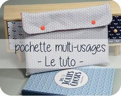 pochette multi-usages [tuto] - Pikebou