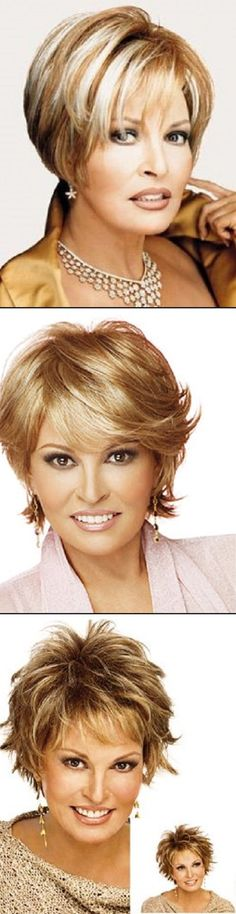 Rachel Welch wigs, I like the sophistication of this look.