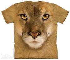 New MOUNTAIN LION FACE T Shirt