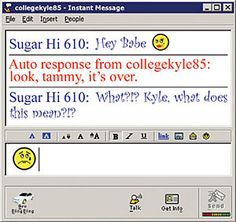 --Fucking AIM in its infancy. I started chatting when I was 14 or That hot 14 year old girl from Georgia was probably some crusty, fat, 45 year old man living in his mama's crack house basement. America Online, Love The 90s, Fox Kids, 14 Year Old Girl, Instant Messaging, 90s Nostalgia, My Childhood Memories, Middle School, Growing Up