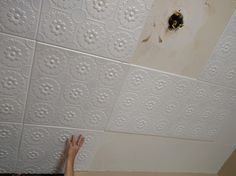 Kitchen Ceiling Tile Ideas & Photos - DecorativeCeilingTiles.net