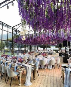 Wisteria canopy for this Villa Balbiano wedding in Lake Como Italy Fun Wine Glasses, White Wine Glasses, Planners, Lake Como Italy, Home Wedding Decorations, Hall Decorations, Lake Como Wedding, Artificial Silk Flowers, Wedding Table Flowers