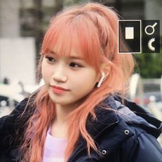 김채원 kim chaewon, #kpop #izone #gg #girlgroup #chaewon #icons Cool Girl, My Girl, Cute Girls, Kpop Girl Groups, Kpop Girls, Pink Hair, Red Hair, Stephanie Laurens, Hair Icon
