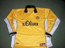 1998 2000 Borussia Dortmund Adults XL L/s Home Football Shirt Trikot Germany