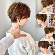 Haircut For Thick Hair, Cute Hairstyles For Short Hair, Asian Short Hair, Short Hair Cuts, Love Hair, My Hair, Medium Hair Styles, Short Hair Styles, Short Hair Designs