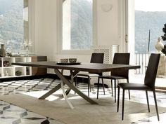 Bontempi Casa Artistico Wood Dining Table by R&D Bontempi - Chaplins