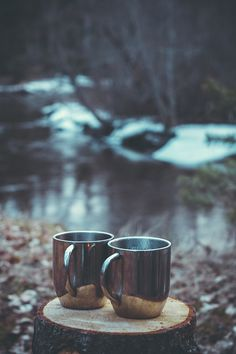 Coffee is at it's absolute best when it's with Scot in the early morning, outside -- our deck, the cottage, or camping!