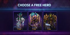 Don't Forget To Grab Your Free Heroes of the Storm Character Tomorrow - http://techraptor.net/content/dont-forget-to-grab-your-free-heroes-of-the-storm-character-tomorrow | Gaming, News