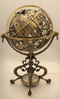 props - Mechanical celestial and terrestrial globe [brunelluschi, 2014]