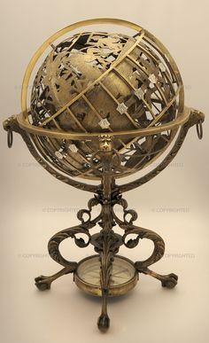 props - Mechanical celestial and terrestrial globe [brunelluschi, 2014]